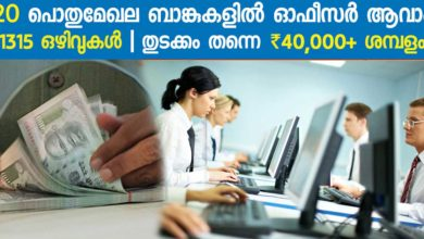 Photo of IBPS Recruitment 2017: Specialist officer Notification out! 1315 vacancies.