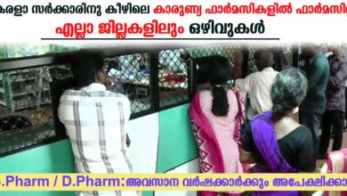 Photo of Pharmacist In Karunya Pharmacy under Kerala Government: Vacancies in All districts