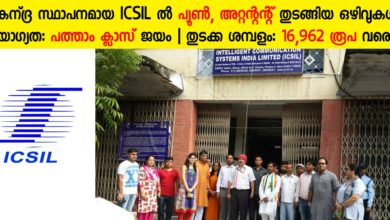 Photo of Intelligent Communication Systems India Ltd. (ICSIL) Recruitment 2019: Apply Now for 207 Care Taker, Cook, Aya, Peon, Kitchen Helper & Attendant Vacancies