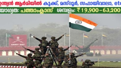 Photo of Indian Army Recruitment 2019: Apply online now for 21 Messenger, Safaiwala, Cook, Mazdoor and other vacancies