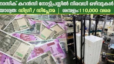 Photo of Currency Note Press, Nasik Recruitment 2019: Apply online now for 21 Welfare Officer and Supervisor Vacancies