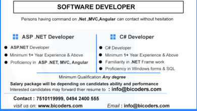 Photo of Software Developer Vacancies in Bicoders Solutions, Kinfra Kakanchery.