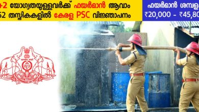 Photo of Kerala PSC Recruitment 2019: Apply Now for 52 different posts