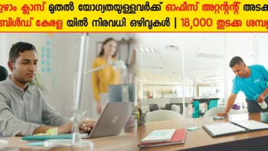 Photo of Rebuild Kerala Initiative (Kerala Government) Recruitment 2020: Apply Now for Office attendant and accredited engineer Vacancies.