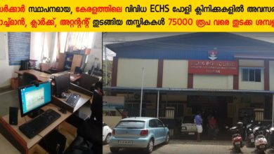 Photo of ECHS Recruitment Notification for Contractual Employment at ECHS polyclinics:  Apply Now for Various Vacancies in Alappuzha,Thrissur & Kunnamkulam
